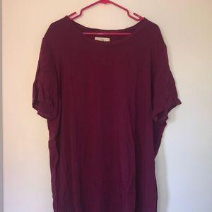 TNA tshirt dress
